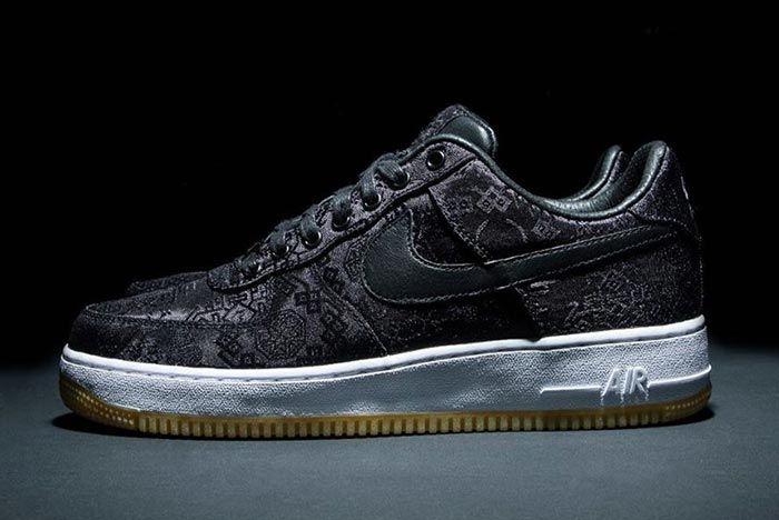 Clot Nike Air Force 1 Left Side Shot