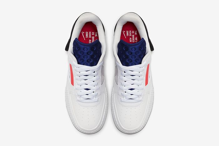 Nike N 354 Af1 Type Summit White Ci0054 100 Release Date Top Down