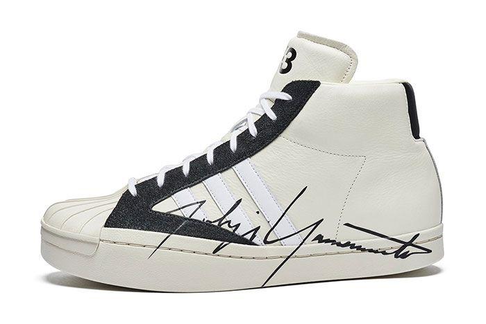 Adidas Y3 Yohji Pro Side White