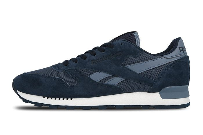 Reebok Classic Leather Clip Ele Navy Blue 4