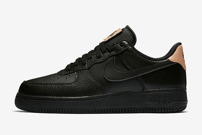 Nike Air Force 1 Low Black Leather 5