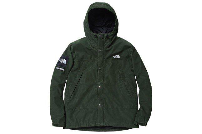 Supreme North Face Green Jacket 1