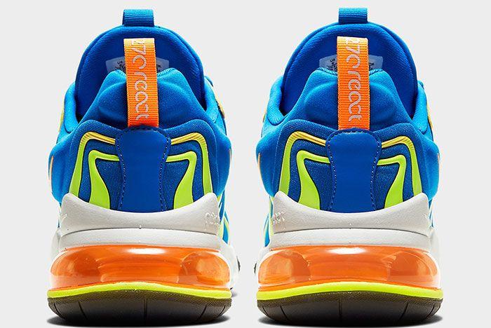 Nike Air Max 270 React Eng Cd0113 401 Heel