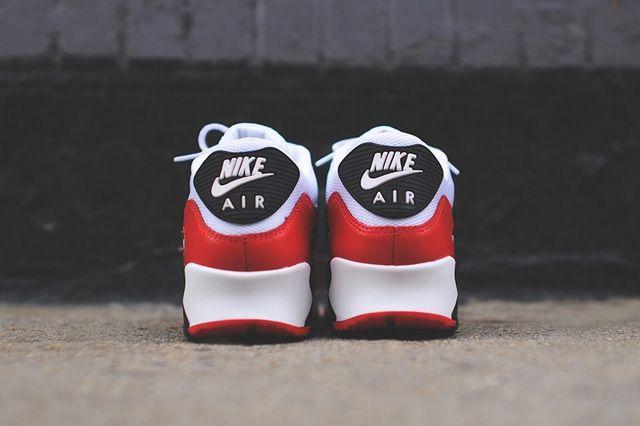 Nike Air Max 90 White Red Black 5