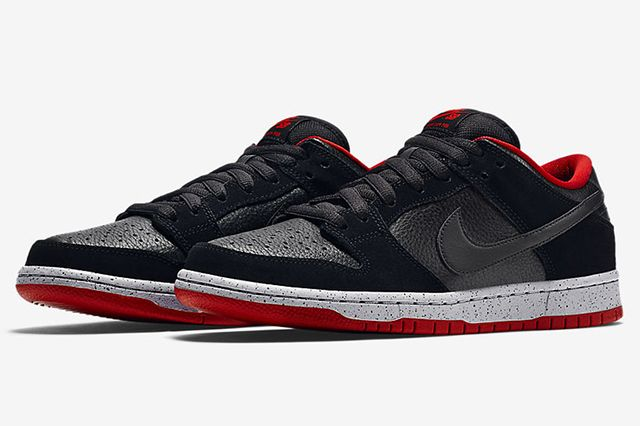 Nike Sb Dunk Low Black Cement5