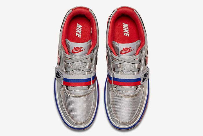 Nike Vandal 2 K Silver Black 10