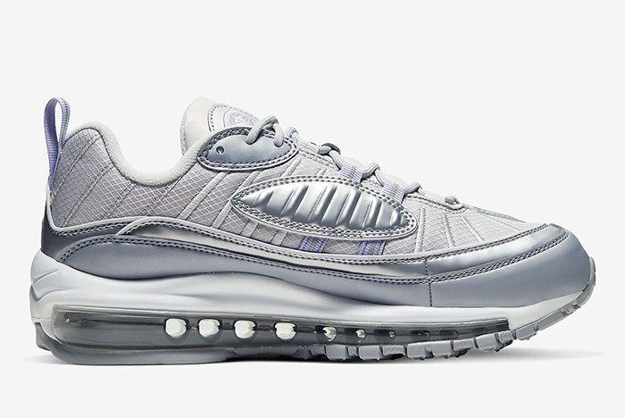 Air Max 98 Silver Bv6536 001 3 Side