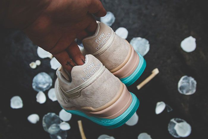 New Balance 997 Coastal Pack Beige Detail