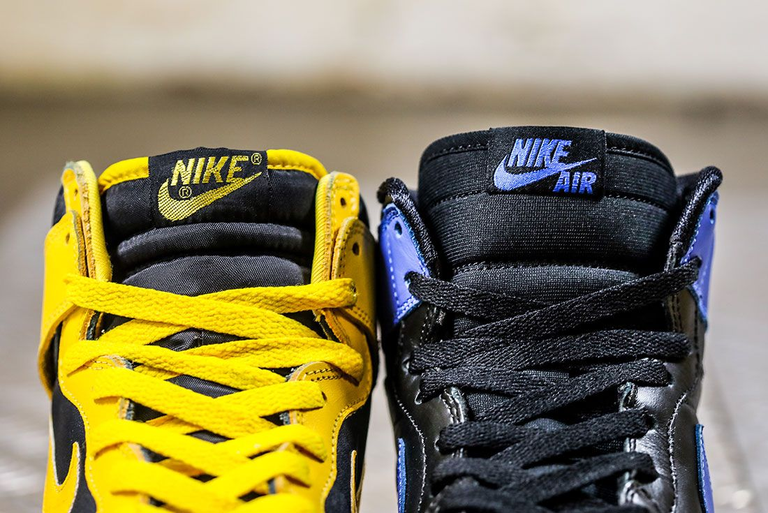 Nike Dunk Versus Air Jordan 1 Comparison 17