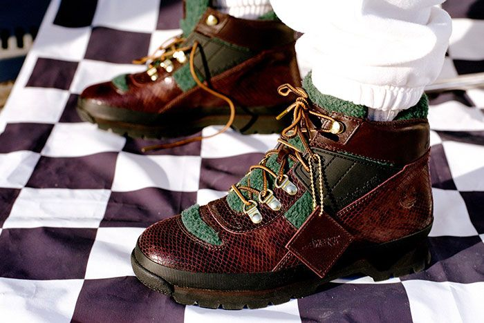 Awake Ny Timberland Sport Trekker On Foot