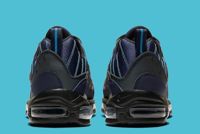 Nike Air Max 98 Unc Navy 2