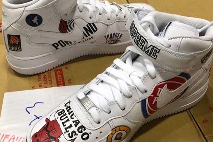Supreme Nike Air Force 1 Nba 1