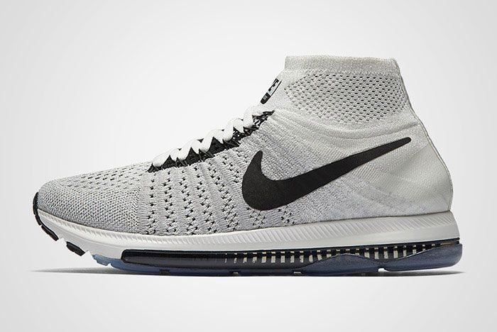 Nike Zoom All Out Flyknit Light Grey Thumbn