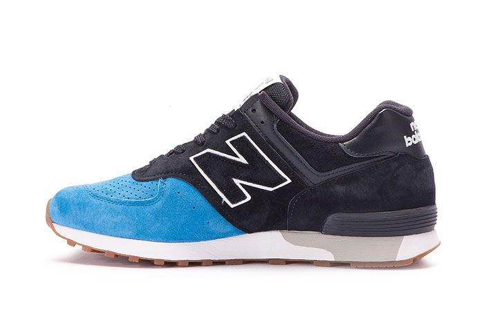 New Balance 576 Made In England Black Blue 2