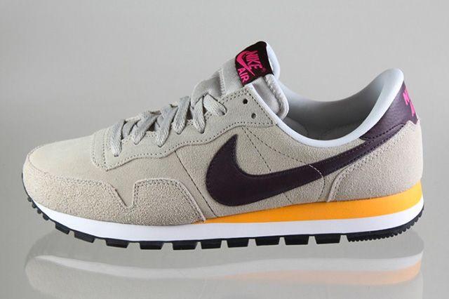 Nike Air Pegasus 83 Leather Pale Grey Pink Foil