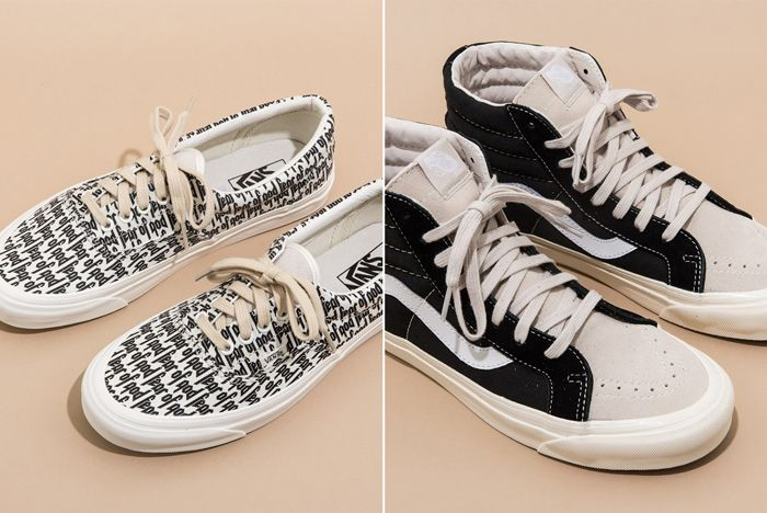 Fear Of God X Vans Collection 1