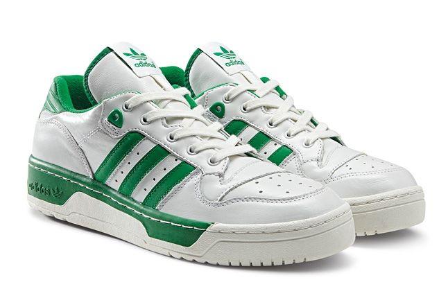 Adidas Originals Rivalry Pack Low Wht Green Hero 1