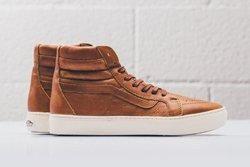 Vans Leather Sk8 Hi Henna Turtledove Thumb