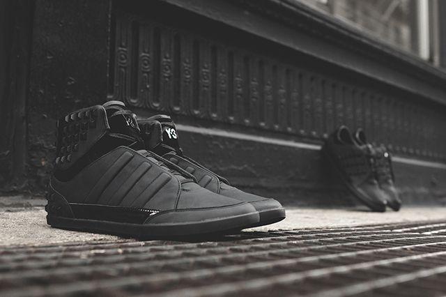 Adidas Y 3 Honja Triple Black Stud Pack