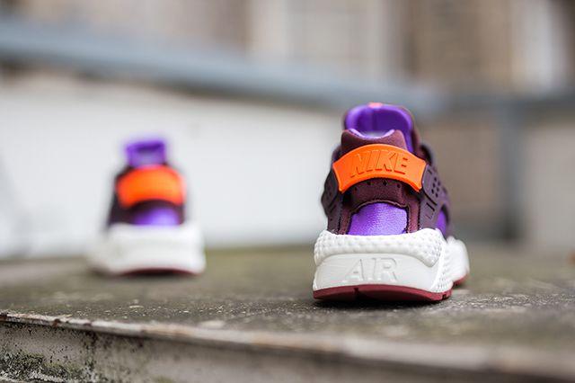 Nike Wmns Air Huarache Prm Deep Burgundy1