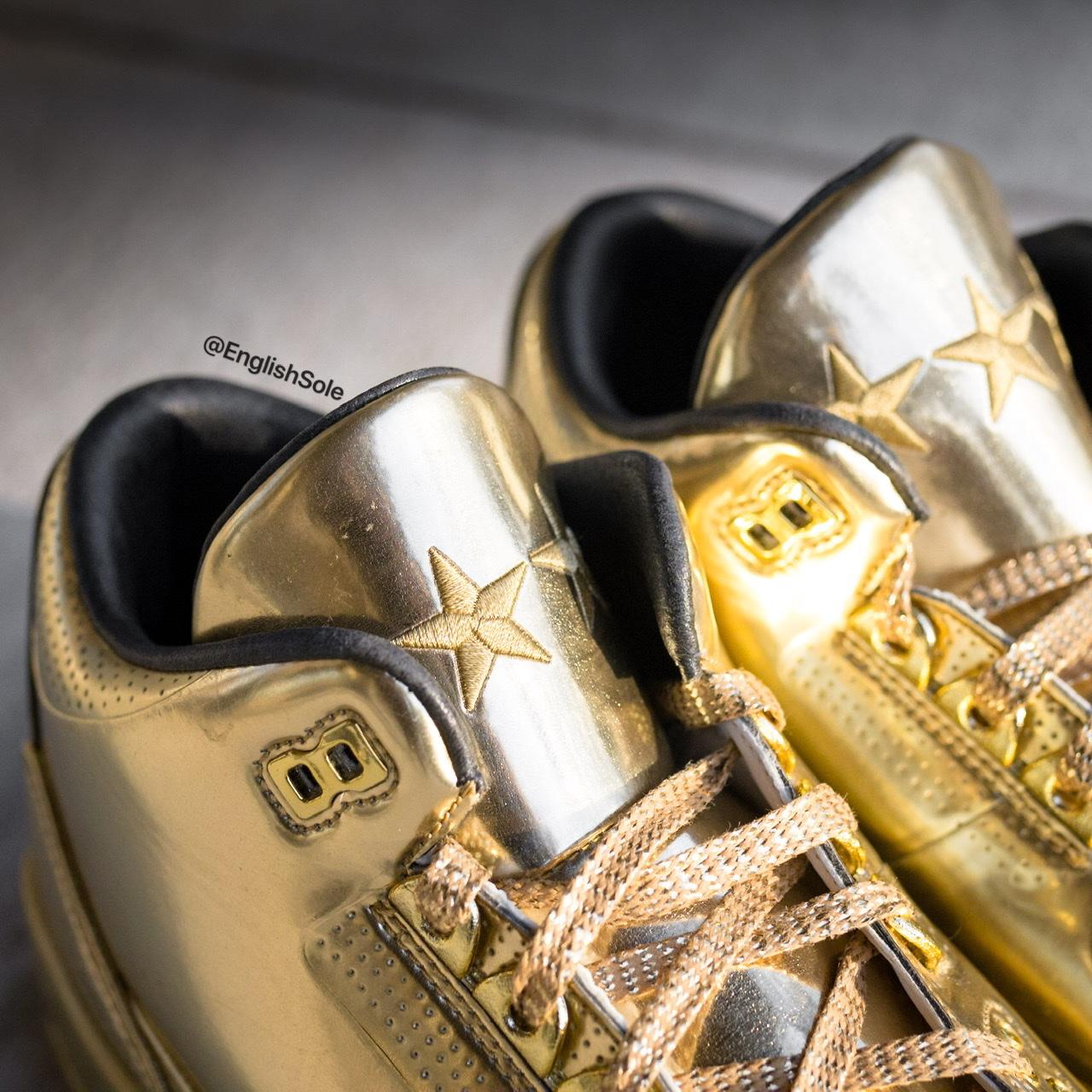 Air Jordan 3 Usher 2014 Gold Sample