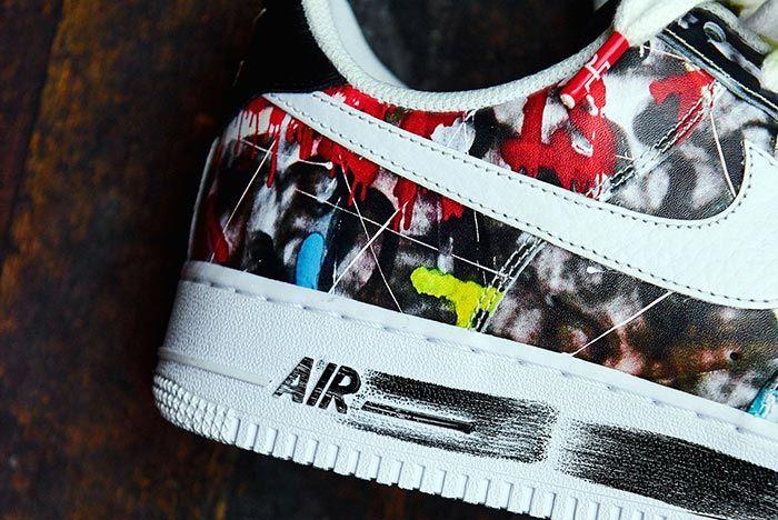 G Dragon Peaceminusone Nike Air Force 1 Heel Detail