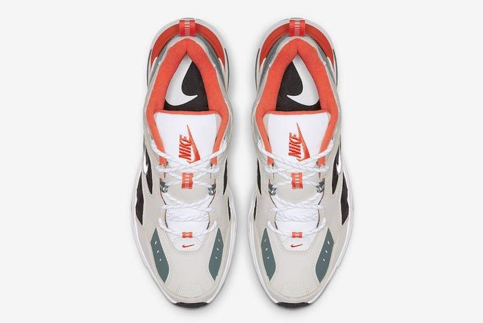 Nike M2 K Tekno Light Bone Turf Orange Top