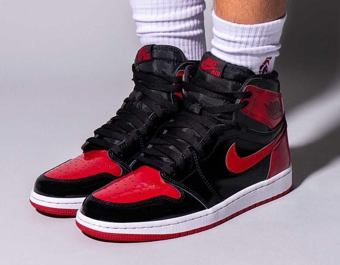 On-Foot: Air Jordan 1 High OG 'Bred Patent'