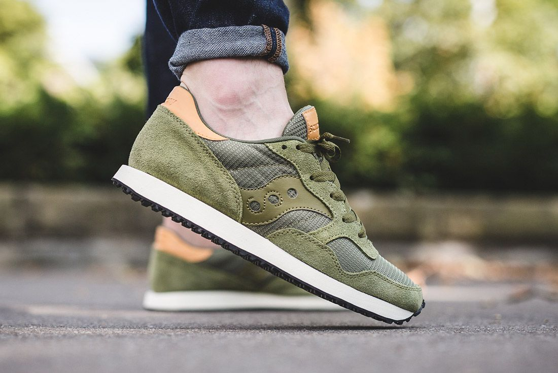 Saucony Dxn Trainer Olive Green 4