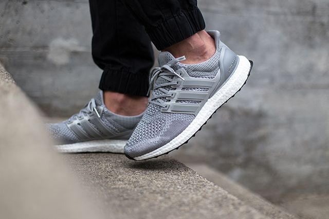 Adidas Ultra Boost Silver White 3