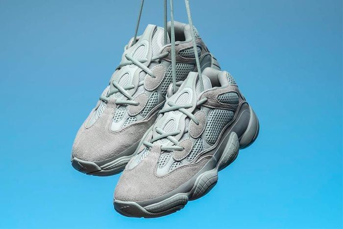 Get A Closer Look At The Adidas Yeezy 500 Salt