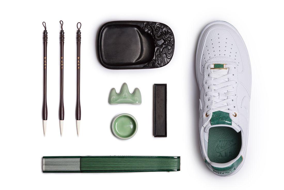 Nike Air Force 1 2017 Nai Ke Collection Jade 14