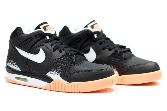 Nike Air Tech Challenge Ii Black Mango 4