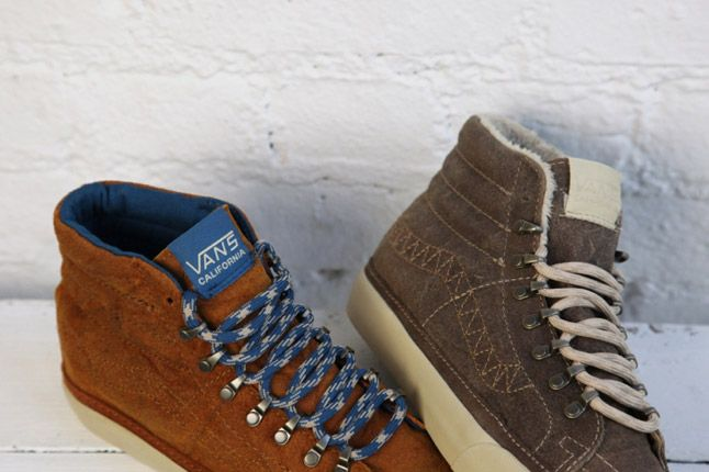 Dqm Vans Womens Winter Collection Sk8 Hi Reissue Ca Hiker 1