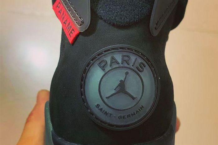 Psg Air Jordan 6 First Look Release Date Heel