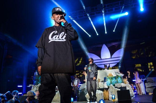 Adidas Originals Los Angeles Pop Up Concert 1
