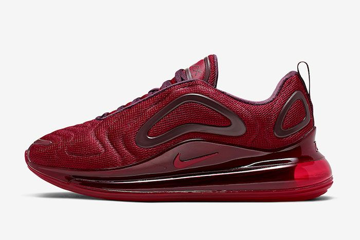 Nike Air Max 720 University Red Night Maroon Ao2924 601 Lateral