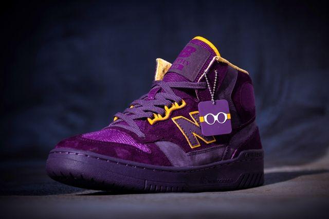 Packer Shoes New Balance 740 Purple Reign Bump 1