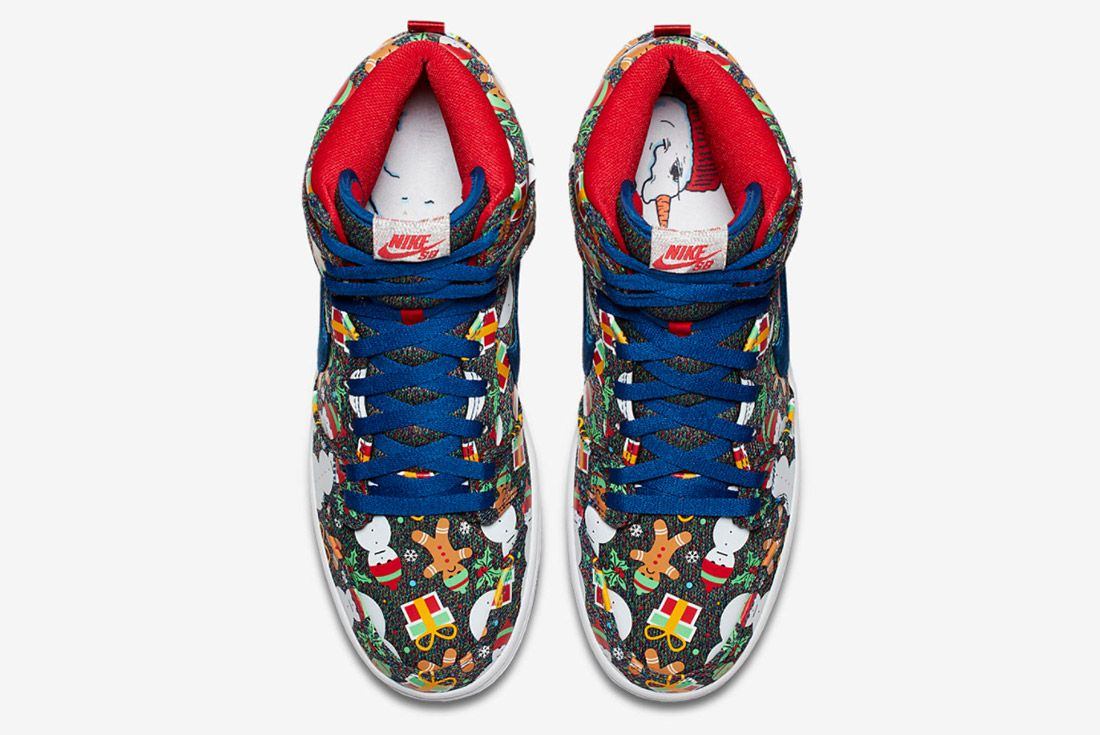 Conceptsnike Sb Ugly Christmas Sweater Dunk 4