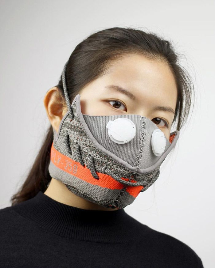 Adidas Yeezy Boost 350 Sneaker Mask By Zhijun Wang 1