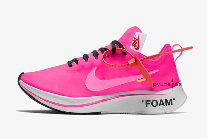 Off White X Nike Zoom Fly Racer Pink Tulip 2