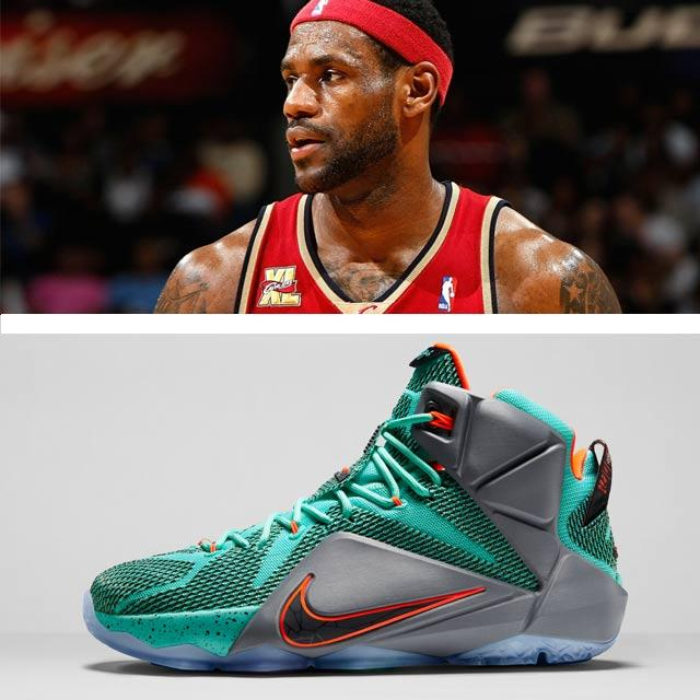 Highest Selling Signature Sneakers 1 Nike Le Bron