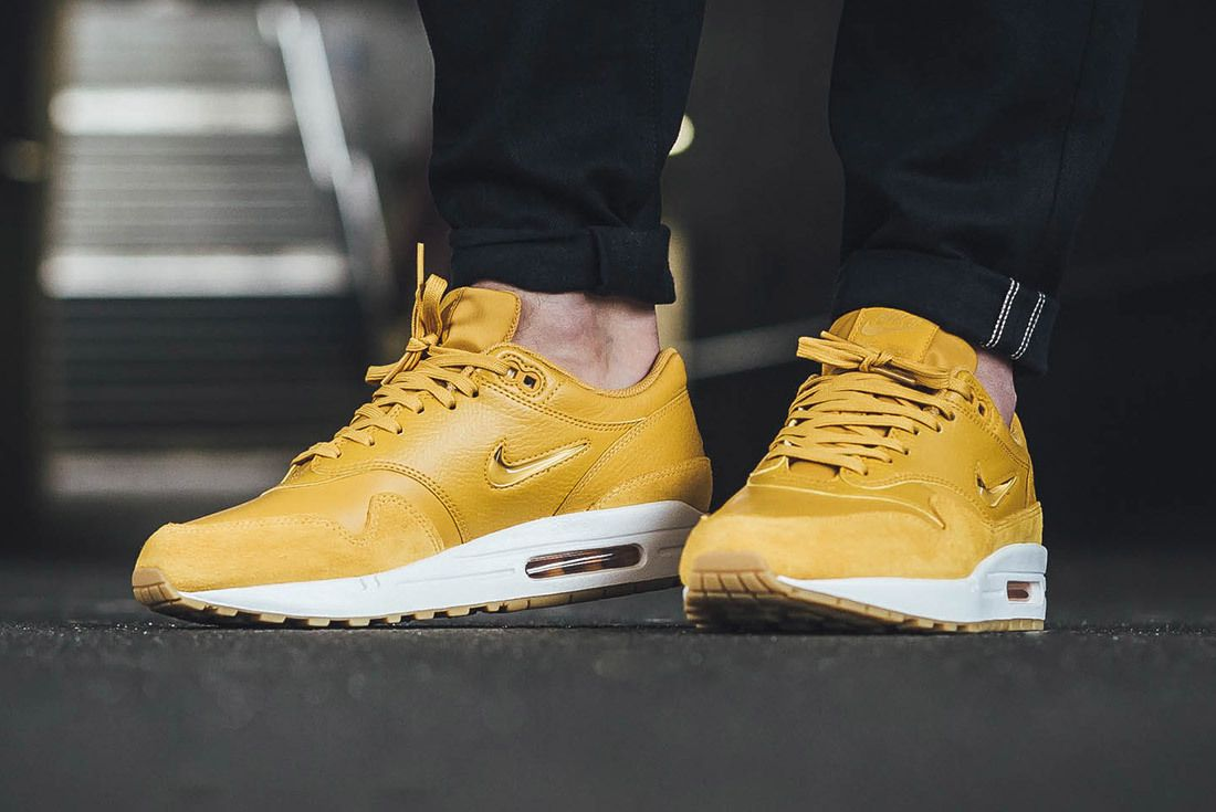 Nike Air Max 1 Jewel Mustard Yellow 5