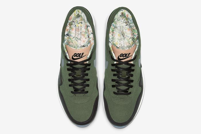 Nike Air Max 1 Golf Cargo Khaki Top