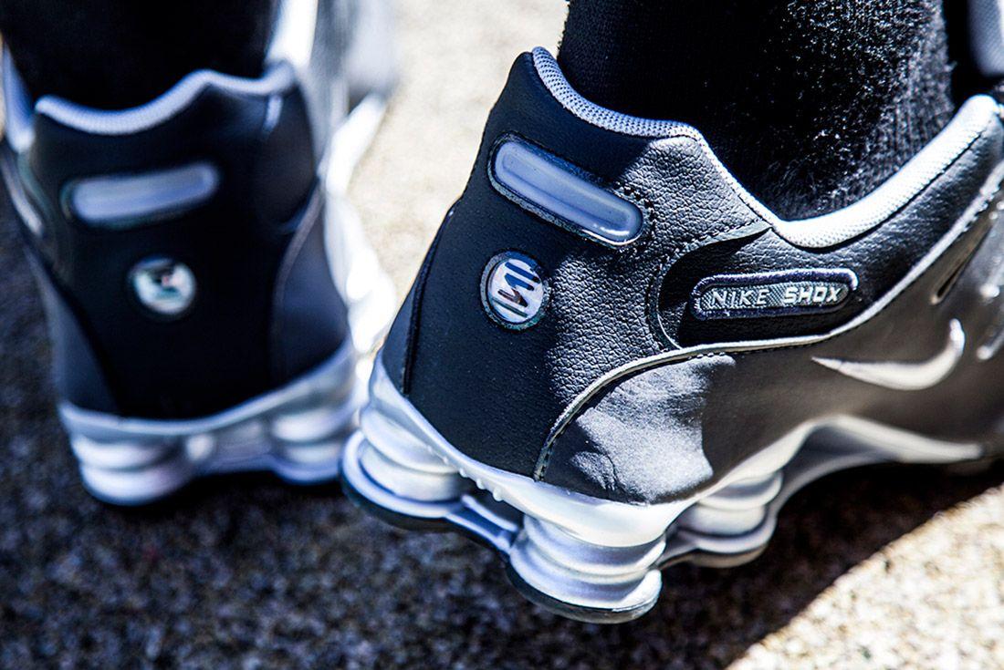 Material Matters Nike Shox Big 1