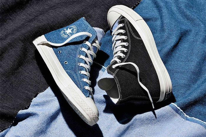 Converse Chuck 70 Renew Denim Split Pack Top High
