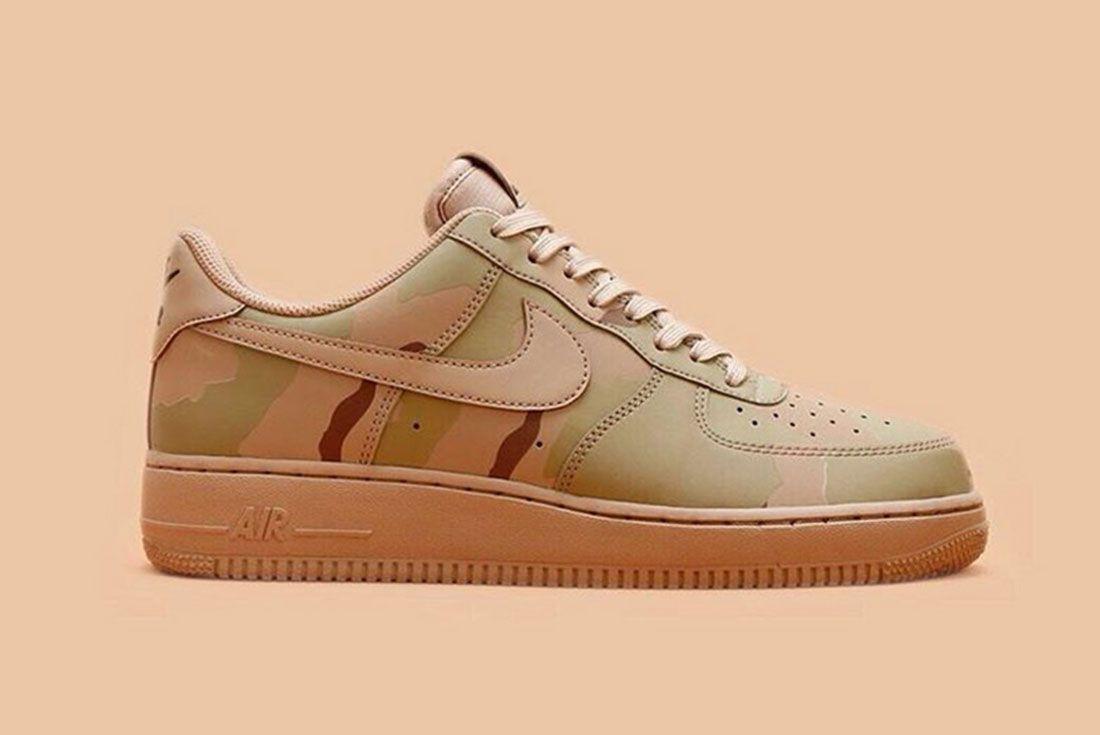 Nike Air Force 1 Camo Reflective 1