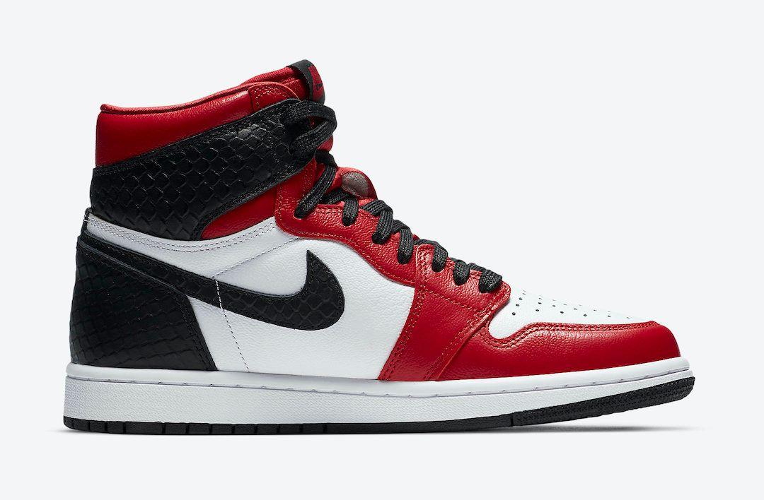 Air Jordan 1 Satin Snakeskin Right