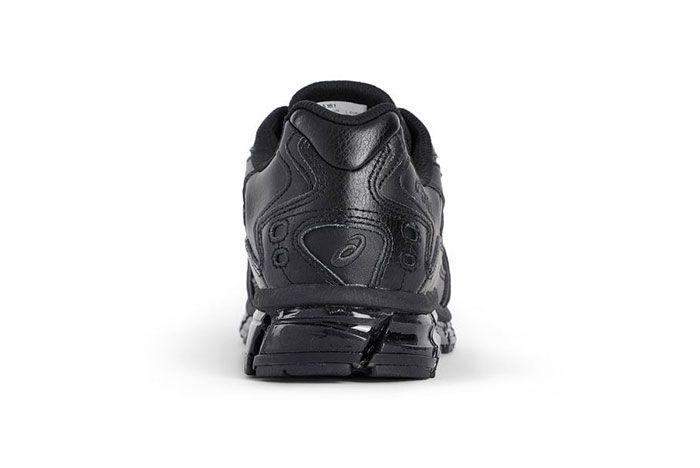 Asics Gel Kayano 5 360 Triple Black Heel