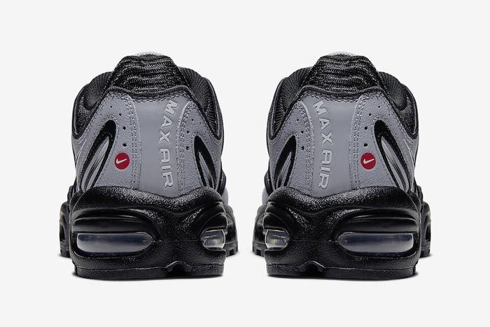 Nike Air Max Tailwind 4 Black Grey Heels